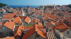Free The Rooftops Of Dubrovnik Stock Image - 19961431
