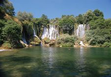 Free Kravice Waterfall, Bosnia And Herzegovina Stock Photography - 19961452