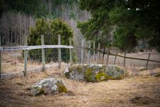 Free Wooden Fence Royalty Free Stock Images - 19961529