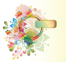 Free Floral Background Stock Photography - 19961842