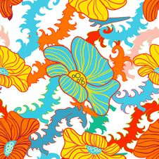 Free Abstract Floral Background Stock Photography - 19961872