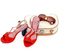 Free Beautician, Shoes And Sun Glasses Stock Photo - 19962160