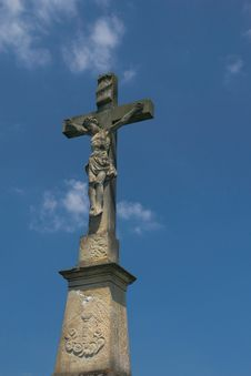 Free Cross And Blue Sky Stock Photos - 19962173