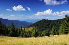 Free Summer Landscape In Mountains A Sunny Day Stock Photography - 19962492