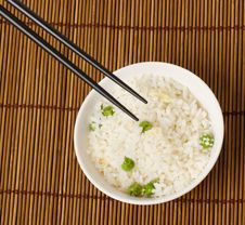 Free Egg Fried Rice Royalty Free Stock Photos - 19962898