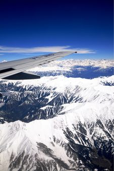 Himalaya Mountain View Stock Photos