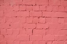 Free Pink Brick Wall Stock Photos - 19963273