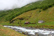 Norwegian Landscape Stock Image