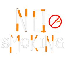 Free No Smoking Sign Illustration. Stock Photos - 19964283