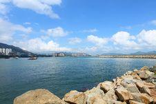 Free Coastal Landscape In Hong Kong At Daytime Royalty Free Stock Photography - 19964877
