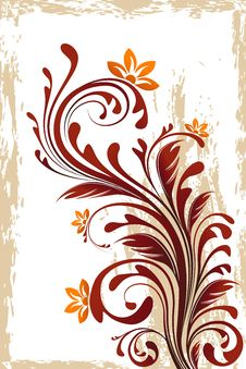 Free Floral Background Stock Photos - 19964953