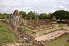 Free Wat Phra Sri Sanphet Ayutthaya Thailand Royalty Free Stock Photo - 19965065