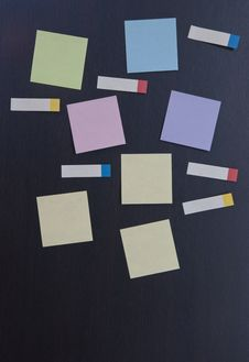 Free Colorful Paper Note And Tag Stock Photography - 19965102