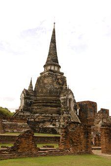 Free Wat Phra Sri Sanphet Ayutthaya Thailand Royalty Free Stock Photography - 19965127