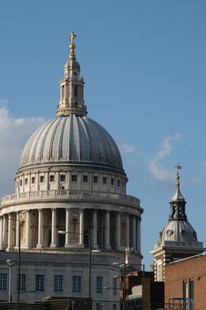 Free London, Saint-Paul Cathedral Royalty Free Stock Photos - 19965728
