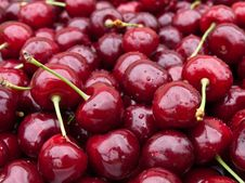 Free Sweet Cherry Background Royalty Free Stock Image - 19966746
