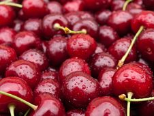 Free Sweet Red Cherry Stock Photography - 19966862