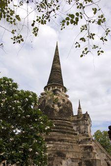 Free Wat Phra Sri Sanphet Ayutthaya Thailand Royalty Free Stock Photography - 19966937