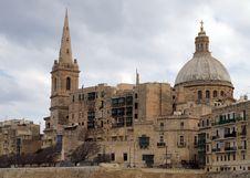 Free Valletta Architecture Malta Royalty Free Stock Photos - 19966968