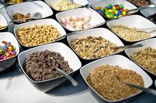 Free Variation Of Sweets And Cereals Stock Photos - 19967523