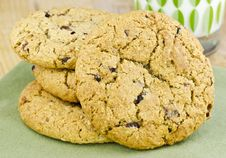 Free Oatmeal Raisin Cookies Stock Photo - 19967910
