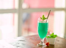 Free Mint Cocktail Royalty Free Stock Photography - 19968197