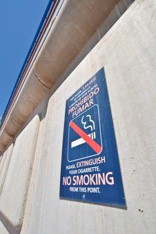 Free Sign No Smoking Stock Photo - 19968430