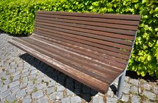 Free Wooden Bench Stock Photography - 19968552