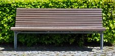 Free Wooden Bench Stock Photography - 19968592