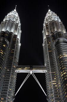 Free Petronas Twin Towers Stock Image - 19968601