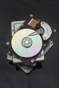 Free Hard Disks Royalty Free Stock Photography - 19969407
