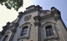 Free Beijing South Church Facade Stock Images - 19969444