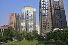 Free Apartment,Beijing Skyline,China Royalty Free Stock Image - 19969526