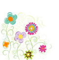 Free Vintage Floral Card Royalty Free Stock Images - 19975329