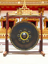 Free Gong In Thai Temple Stock Photography - 19978502
