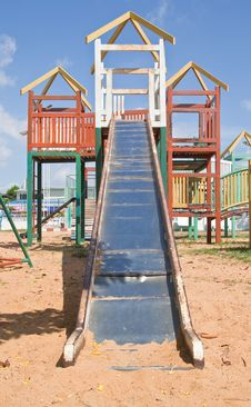 Free Colorful Playground Stock Image - 19970291