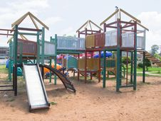 Free Colorful Playground Royalty Free Stock Image - 19970296