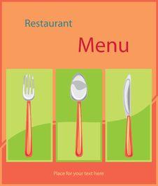 Free Vector. Restaurant Menu Design Royalty Free Stock Image - 19970726