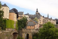 Free Aristocratic Residence In Luxembourg Royalty Free Stock Images - 19970969