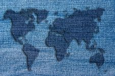 Free World Map Stock Image - 19971021