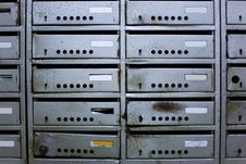 Free Old Mailboxes Stock Image - 19971211