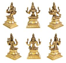Free Bronze Statue Of Lakshmi Royalty Free Stock Photography - 19971597