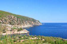 Free Aegean Sea, View From Livadi Beach Royalty Free Stock Photos - 19971898