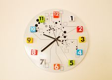 Free The Clock Shows 9:30 Royalty Free Stock Photos - 19972528