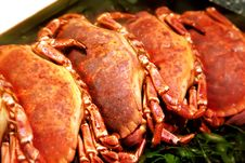 Free Raw Crabs In Shop Stock Images - 19972614