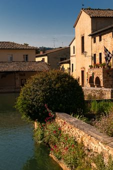 Free Bagno Vignoni Stock Photos - 19972713