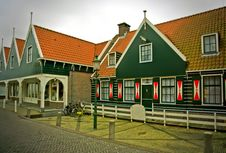 Free Old Typical Dutch Village Royalty Free Stock Photos - 19972718