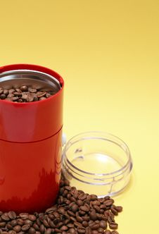 Electric Coffee Grinder Royalty Free Stock Images