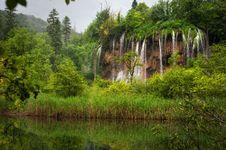 Free Plitvice Waterfalls Stock Image - 19973131