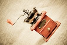 Free Coffee Mill Royalty Free Stock Image - 19973616